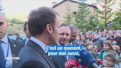 Profession président : Emmanuel Macron en sa principauté d'Andorre