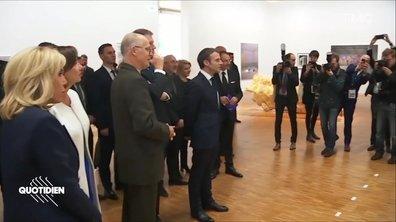 Profession président : Emmanuel Macron et l'art roumain