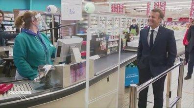 Profession président: Emmanuel Macron ne fait pas les courses (et ça se voit)