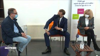"""Profession président : Emmanuel Macron, président """"super lax"""""""