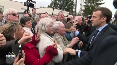 Profession président : Emmanuel Macron et les retraités