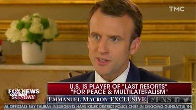 Profession Président : Emmanuel Macron est so good in english