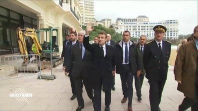 Profession président : l'inspection inutile de Macron à Biarritz
