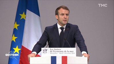 Profession président : la métaphore pas très subtile de Macron sur la grève