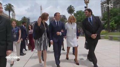 Profession président : les Macron en Argentine