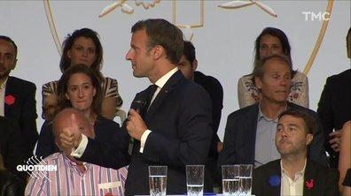 Profession président : Macron et le monde magique des start-up