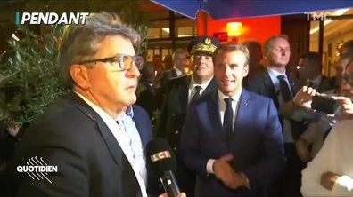 Profession Président : Macron vs Mélenchon, actor studio
