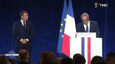Profession président : en matière de citations, Macron a trouvé son maître