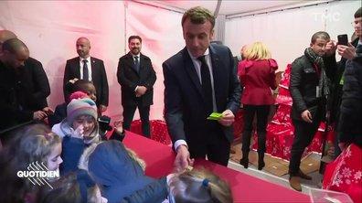Profession président : le Noël jaune d'Emmanuel Macron