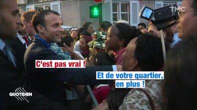 Profession président : on a adoré Joël, l'homme qui a un LIEN avec Macron