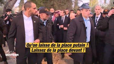 Profession président : que s'est-il passé AVANT le coup de sang de Macron à Jérusalem ?