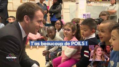 Profession Président: le sale quart d'heure d'Emmanuel Macron avec des maternelles