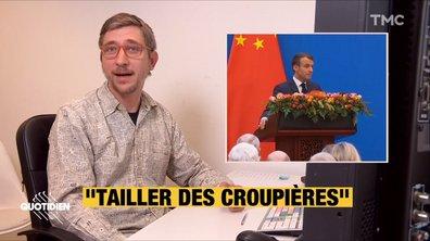 Profession président : les sueurs froides de l'interprète qui a dû traduire Macron