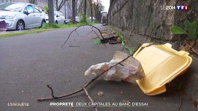 Propreté des villes : Paris et Madrid au banc d'essai