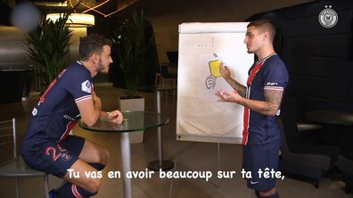 VIDEO - Quand Verratti donne un cours de français à Florenzi