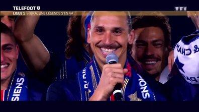 Zlatan et le PSG : des adieux sur un trophée