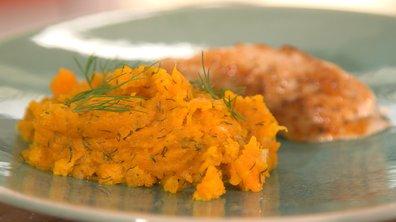 Purée de carottes à l'aneth