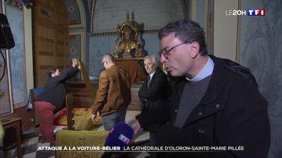 Pyrénées-Atlantiques : la cathédrale d'Oloron-Sainte-Marie pillée après une attaque à la voiture-bélier