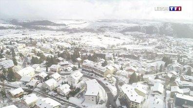 Pyrénées : il n'avait pas autant neigé à Font-Romeu depuis longtemps