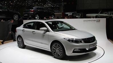 Salon de Genève 2013 - Live : Qoros 3 Sedan, les chinoises attaquent l'Europe