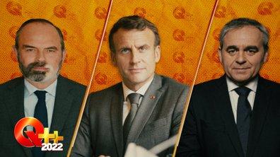 Quotidien ++ 2022 : Edouard Philippe interroge, Emmanuel Macron entre en campagne, Xavier Bertrand se renie