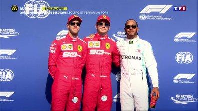 Qualifications GP de Belgique : Leclerc et Ferrari au top