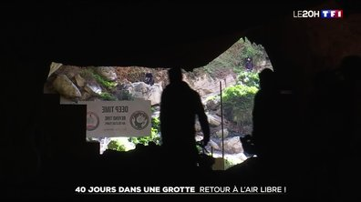 Quarante jours dans une grotte : retour à l'air libre !