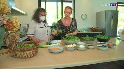 Quatre à table : un menu de plantes sauvages
