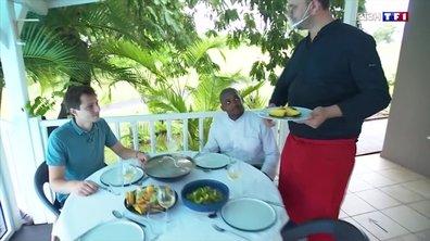 Quatre à table : un menu riche en couleurs en Guadeloupe