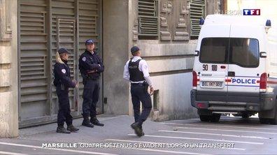 Quatre détenus des Baumettes évadés lors d'un transfert