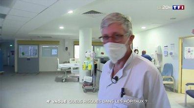 Quatrième vague : risque-t-on une nouvelle congestion des hôpitaux ?