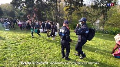Questions sur la fête improvisée au parc des Buttes-Chaumont