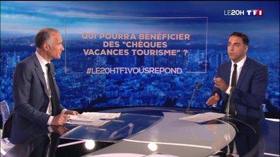 """Qui pourra bénéficier des """"chèques vacances tourisme ? Le 20H de TF1 répond à vos questions"""
