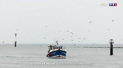 Quotas de pêche post-Brexit : l'ultimatum de la France