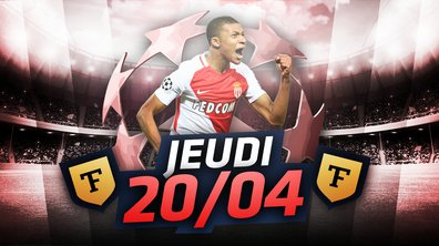La Quotidienne du 20/04 : Monaco qualifié et tout le craque pour Mbappé