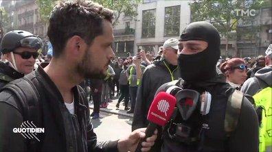 Le 1er mai aux côtés des Black Blocs à Paris