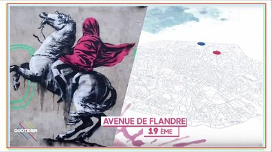20h Médias : Banksy envahit Paris, on décrypte ses oeuvres