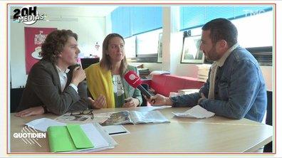 20h Médias : Charline Vanhoenacker et Alex Vizorek se paient Guy Lagache et Sibyle Veil