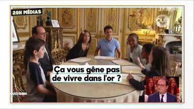 20h Médias : François Hollande et les enfants