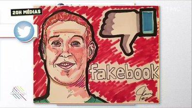 20h Médias : Jim Carrey déclenche un mouvement anti-Facebook