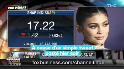 20H Médias : Kylie Jenner fait trembler la bourse de Wall Street à cause d'un tweet