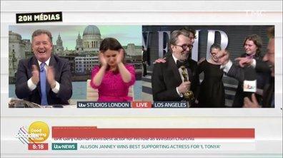 20h Médias – Oscars 2018 : la grosse galère de Ross King, journaliste britannique