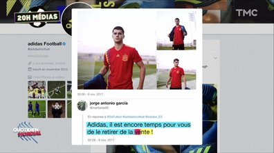 20h Médias : polémique autour des maillots de foot de l'Espagne et de la Colombie