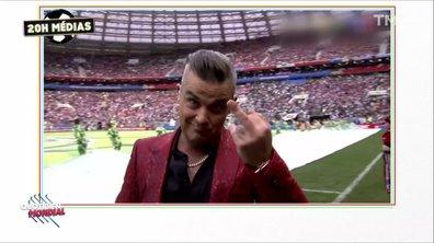 20h Médias : pourquoi le doigt d'honneur de Robbie Williams ?