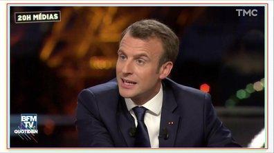 20h Médias : la prochaine interview de Macron sera (encore) sur BFM
