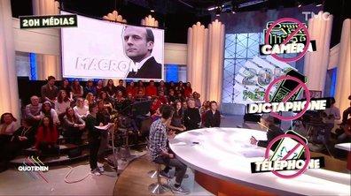 Le 20h Médias : la rencontre top secrète d'Emmanuel Macron… avec des journalistes