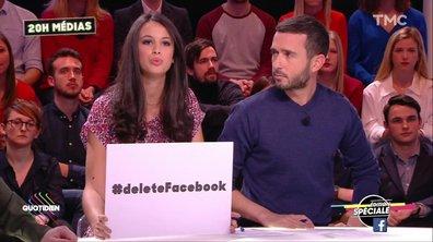 20h Médias - Scandale Facebook : le #deletefacebook prend de l'ampleur