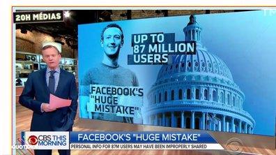 20h Médias : le scandale Facebook touche plus d'utilisateurs que prévu
