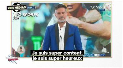 20h Médias : le soulagement de l'Argentine