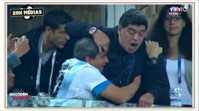 20h Médias : la toute petite forme de Maradona